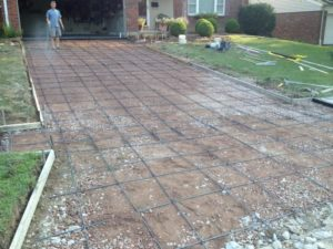 rebar-in-driveways